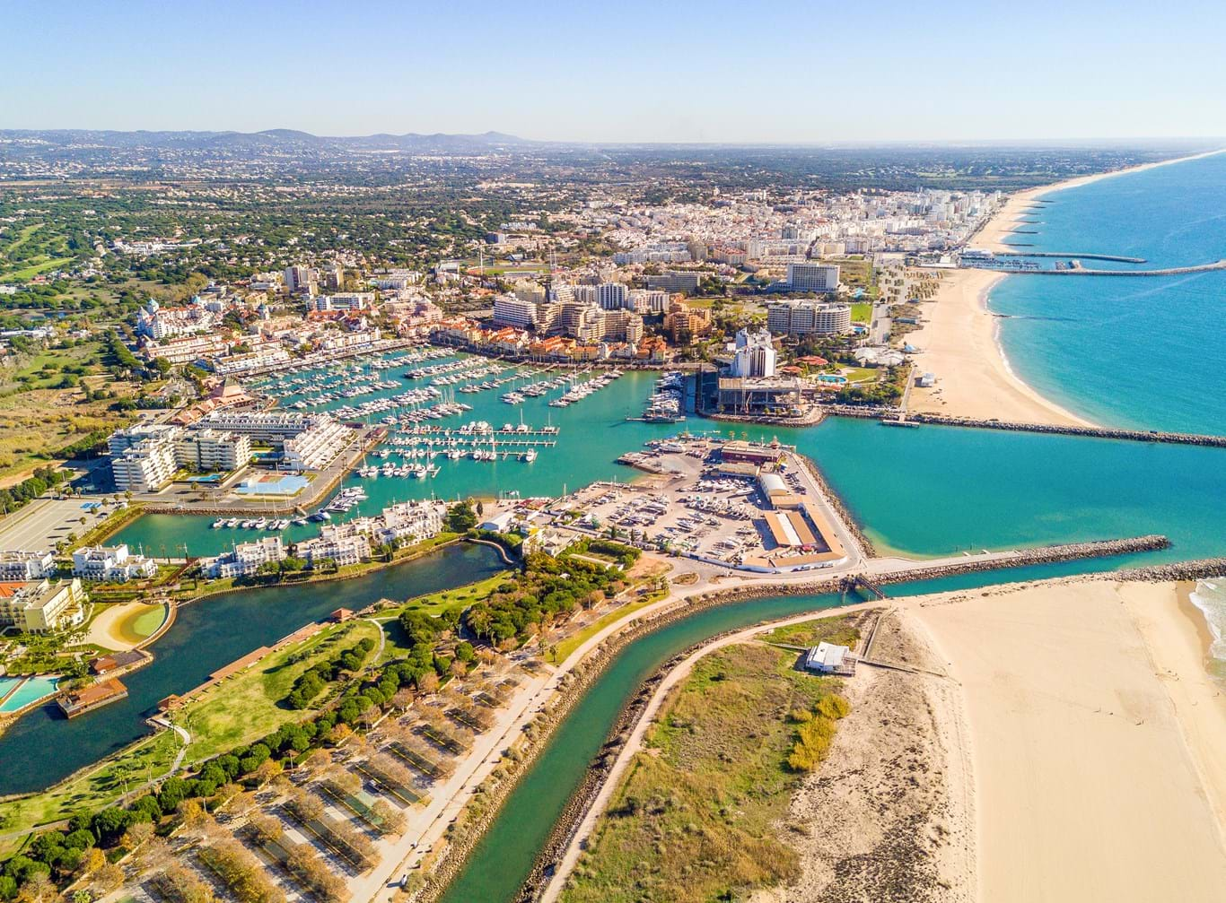 Vilamoura, el puerto deportivo icónico
